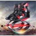 Kangoo jumps KJ XR3 Shoes Professional Breathable Bounce Sports Boots Black-red