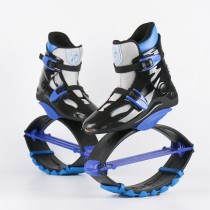 Kangoo Jumps Shoes Outdoor Rebounce Boots Sports Sneakers Black-Blue-Grey