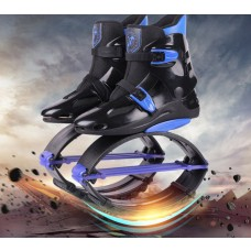 Kangoo jumps Shoes Fitness Outdoor Bounce Sports Jump Shoes New Style Black-Blue
