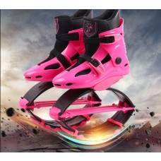 Kangoo Jumps Shoes Outdoor Bounce Boots Sports Sneakers Jump Shoes Pink