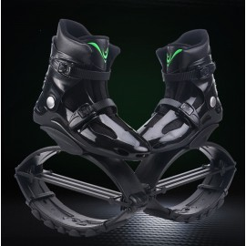 Flying Shoes Kangoo Jumps Shoes Outdoor Bounce Sports Sneakers Black / Green Logo